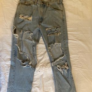 Vintage Ripped Levi jeans